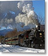 Southbound At Bear Hill Rd. 02 Metal Print