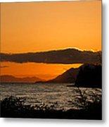 Southeast Alaska Sunset Metal Print