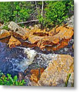 Southeast Brook Above Falls In Gros Morne Np-nl Metal Print