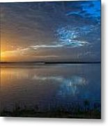 Southeast Texas Sunrise Metal Print by Tammy Smith