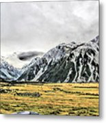 Southern Alps Nz Metal Print
