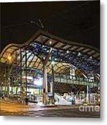 Southern Cross Rail Station In Melbourne Australia Metal Print