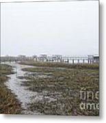 Southern Ebb And Flow Metal Print