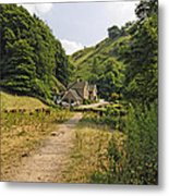 Southern End Of Wolfscote Dale Metal Print