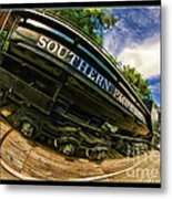 Southern Pacific 2472 Steam Engine 1921 Sunol Station Metal Print