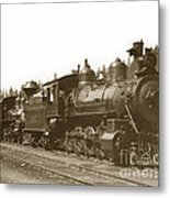 Southern Pacific Steam Locomotives No. 2847 2-8-0 1901 Metal Print