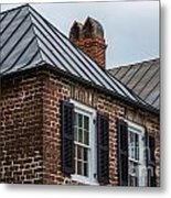 Southern Rooftops Metal Print
