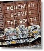 Southern Serves The South Metal Print