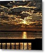 Southern Sunrise Metal Print