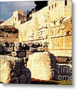 Southern Temple Mount Metal Print