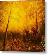 Southern Woods -original Sold- Buy Giclee Print Nr 36 Of Limited Edition Of 40 Prints   Metal Print