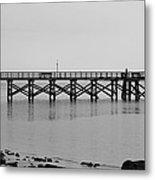 Southport Fishing Pier Metal Print
