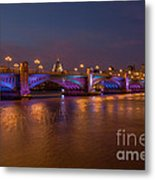 Southwark Bridge Metal Print by Pete Reynolds