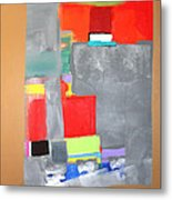 Southwest Abstract Metal Print