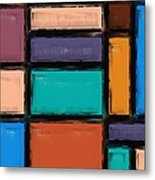 Southwest Home And Garden Color Block Metal Print