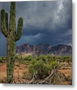 Southwest Monsoon Skies  Metal Print