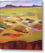 Southwest Stillness 1 Metal Print