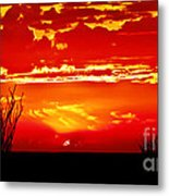 Southwest Sunset Metal Print by Robert Bales