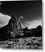Southwestern Beauty In Black And White Metal Print