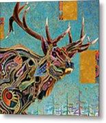 Southwestern Elk Metal Print by Bob Coonts