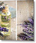 Spa With Lavender  Metal Print