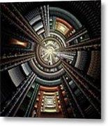 Space Station Metal Print