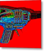 Spacegun 20130115v1 Metal Print