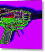 Spacegun 20130115v4 Metal Print