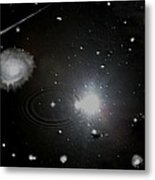 Spacescape  Metal Print