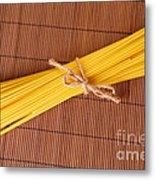 Spaghetti Italian Pasta Metal Print