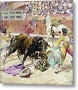 Spain - Bullfight C1900 Metal Print