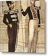 Spain 1833. Royal Guard Infantry Metal Print