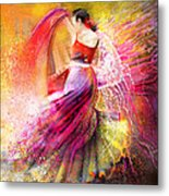 Spain - Flamencoscape 12 Metal Print