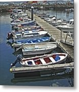 Row Boats In Spain Series 27 Metal Print
