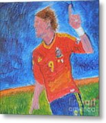 Spain World Soccer Number 1 Metal Print