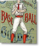 Spalding Baseball Ad 1189 Metal Print by Unknown