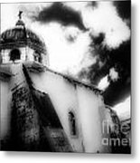 Spanish Cathedral Philippines Metal Print