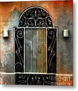 Spanish Influence Metal Print