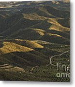 Spanish Landscape In Andalusia Metal Print
