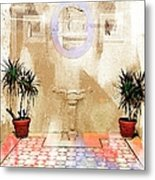 Spanish Patio 03 Metal Print