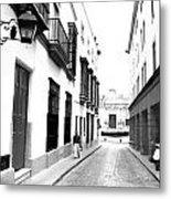 Spanish Street 2 Metal Print