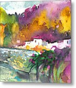 Spanish Village By The River 02 Metal Print