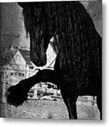 Spanish Walk Metal Print by Royal Grove Fine Art