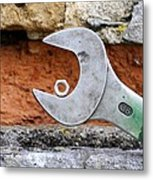 Spanner And Bolt Metal Print