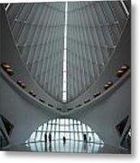 Spanning Interior Spine Metal Print
