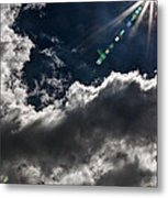 Sparkle From Above Metal Print