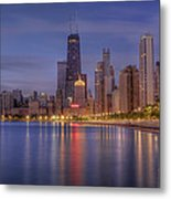Sparkling Chicago  Metal Print