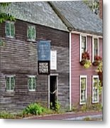 Sparrow House Metal Print