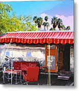 Spartan Manor Palm Springs Metal Print