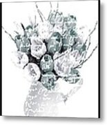 Speak Softly Tulips Metal Print